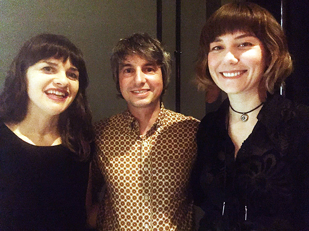 Rachel Baiman, Mark Pountney and Molly Tuttle
